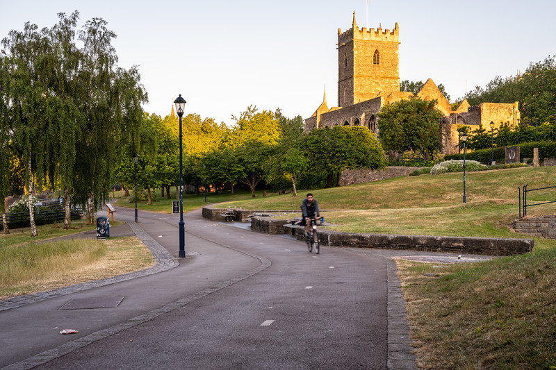 Cycling in Castle Park