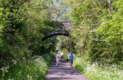 Cycling on the Bristol and Bath Railway Path