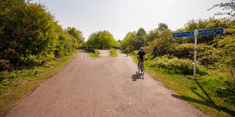 Cycling on the Bristol Railway Path