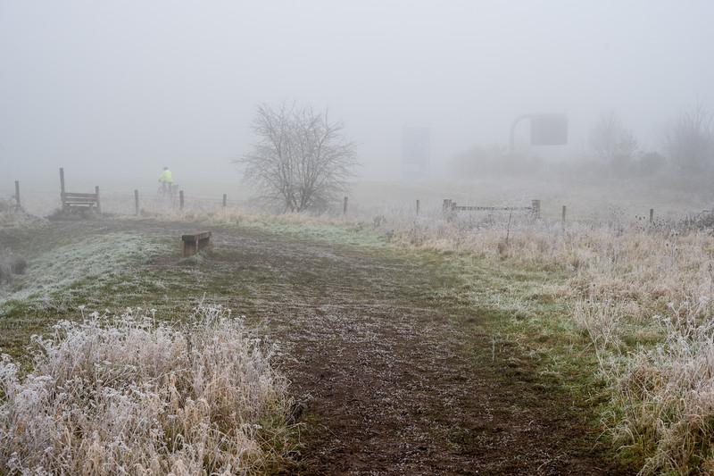 Stoke Park in winter