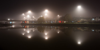 Cumberland Basin in the mist