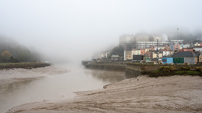 Clifton in fog