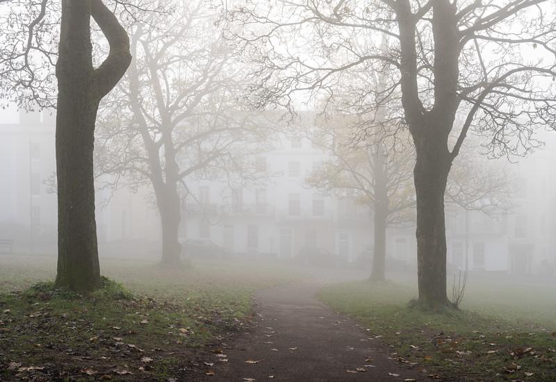 Clifton Down fog