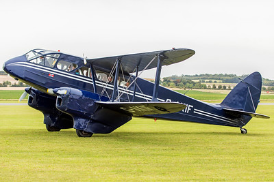 DeHavilland DH 89A Dragon Rapide G-AKIF 9-22-18