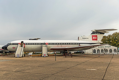 British European Airways Hawker Siddeley H S  121 Trident 2E G-AVFB 9-22-18