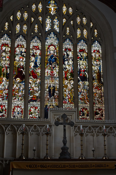 Stained Glass in the Fitzalan Chapel