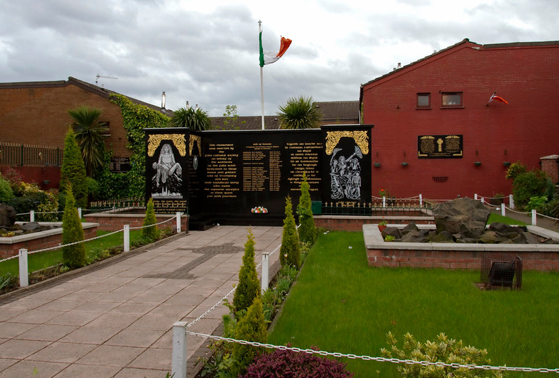 IRA garden of remembrance, Falls Road, Belfast, 7 May 2009 2