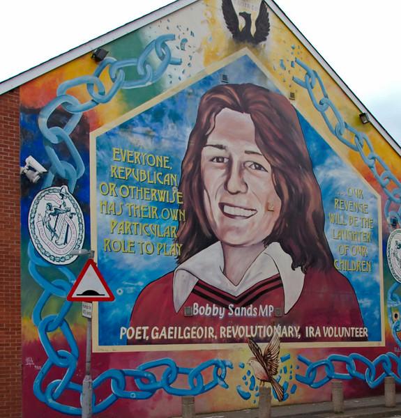 Sinn Fein memorials, Falls Road, Belfast, 7 May 2009 4