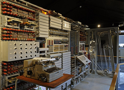 England: Bletchley Park code breaking centre