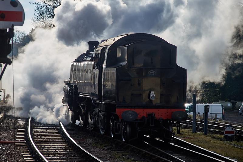 British Rail 80151 Reversing