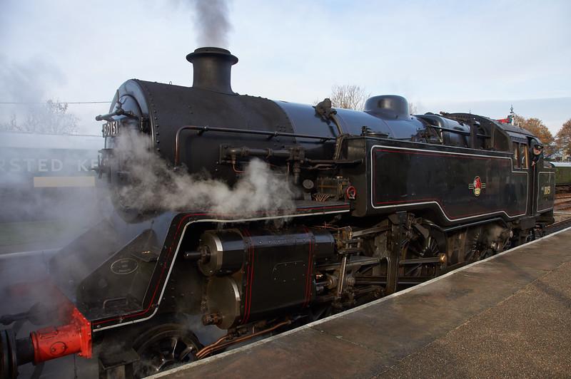 British Rail 80151 at Horsted Keynes