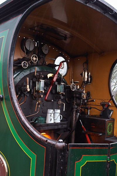 S.E and C.R. 592 Engine Room