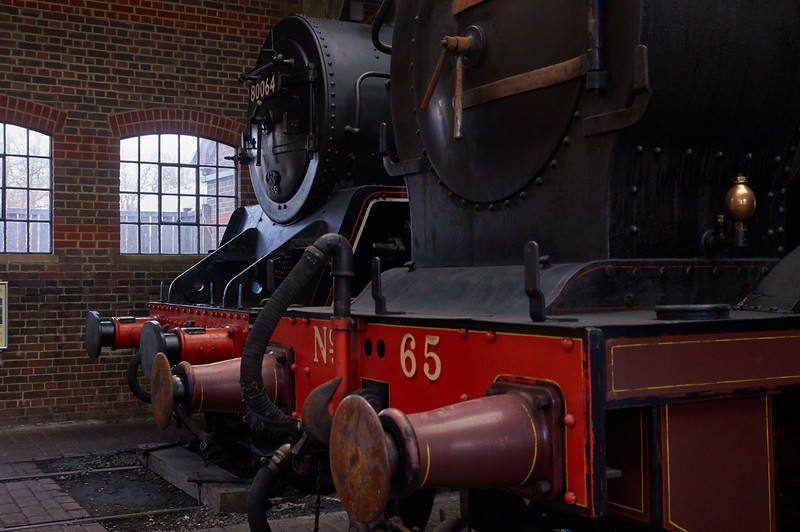 In the Engine Shed