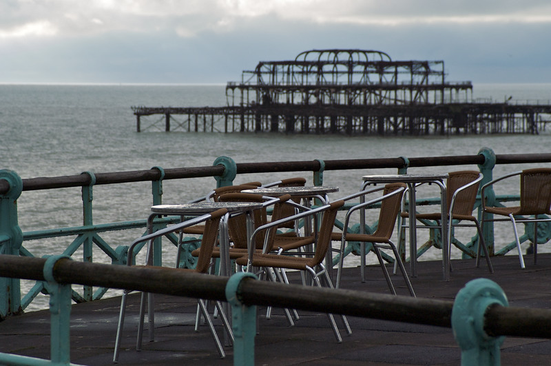 Chairs, Tables and Pier