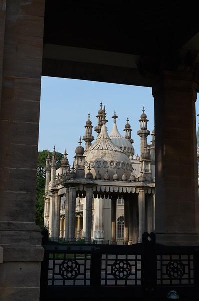 Pavilion, South Entrance