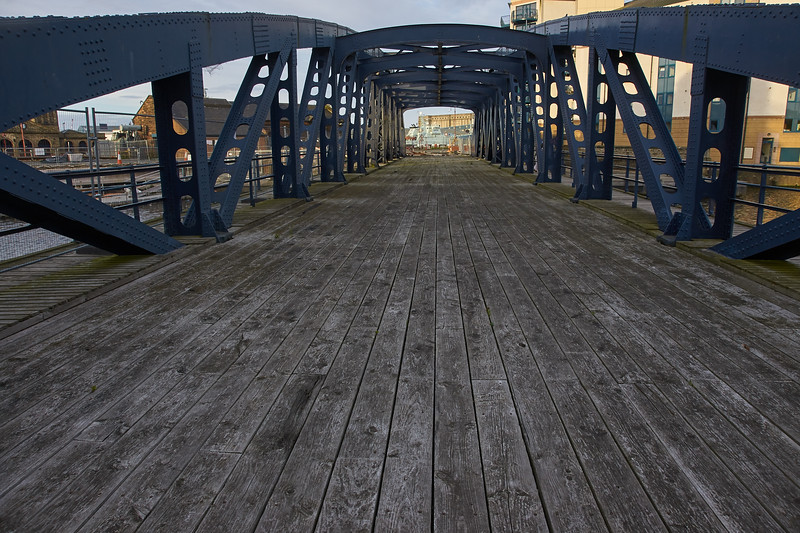 On Victoria Swing Bridge