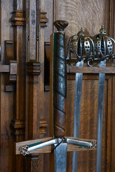 Swords, Edinburgh Castle
