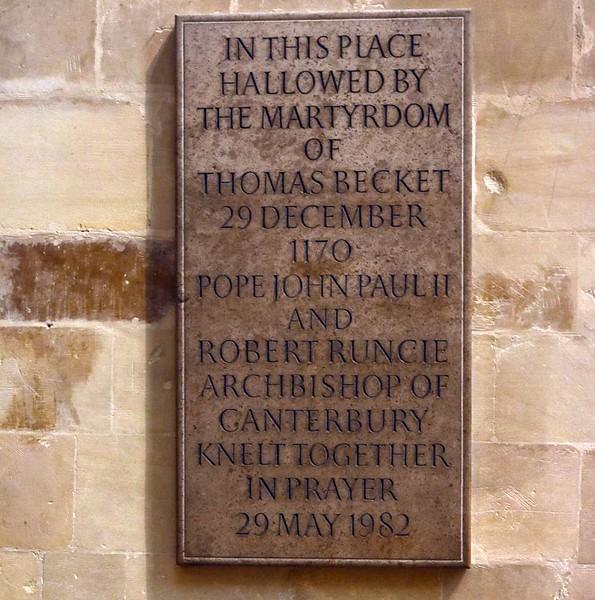 Crypt, Canterbury Cathedral, 10 May 2017 1.
