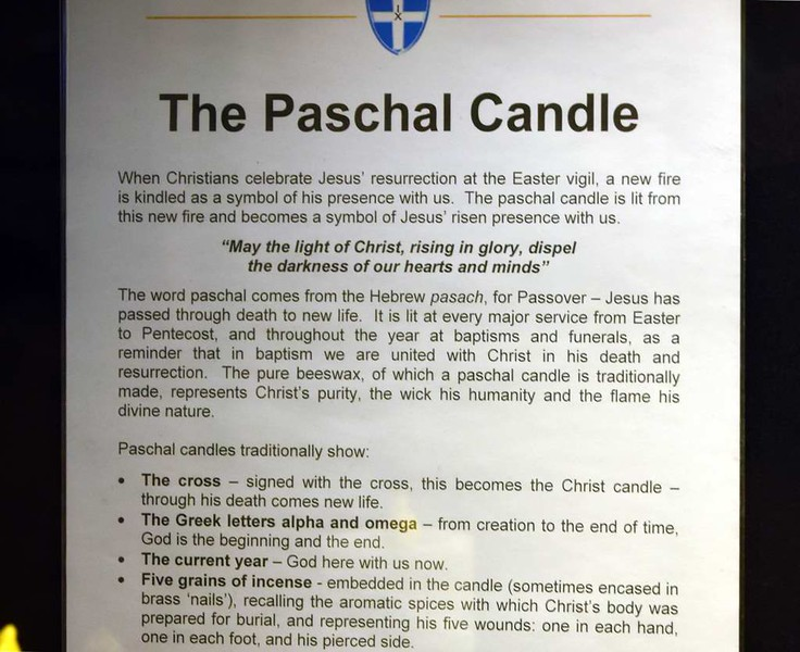 Paschal (Easter) candles, Canterbury Cathedral, 10 May 2017 1.