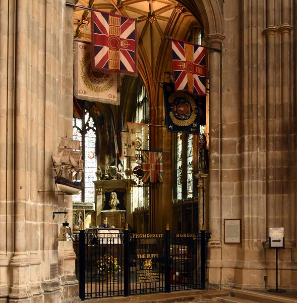 St Michael's ('Warriors') Chapel, Canterbury Cathedral, 10 May 2017 2.