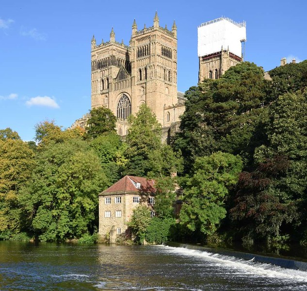 River Wear and cathedral, Durham, 28 September 2017 3.