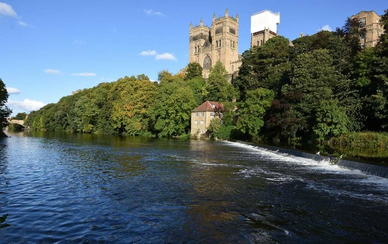 River Wear and cathedral, Durham, 28 September 2017 2.