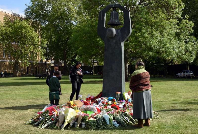 Soviet VE Day commemoration, Geraldine Mary Harmsworth Park, Southwark, London, 9 May 2017 4.