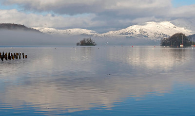 England: Windermere in winter