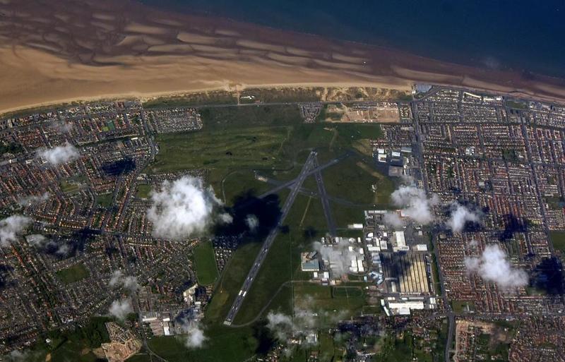 Blackpool airport, 12 May 2019 - 0953.