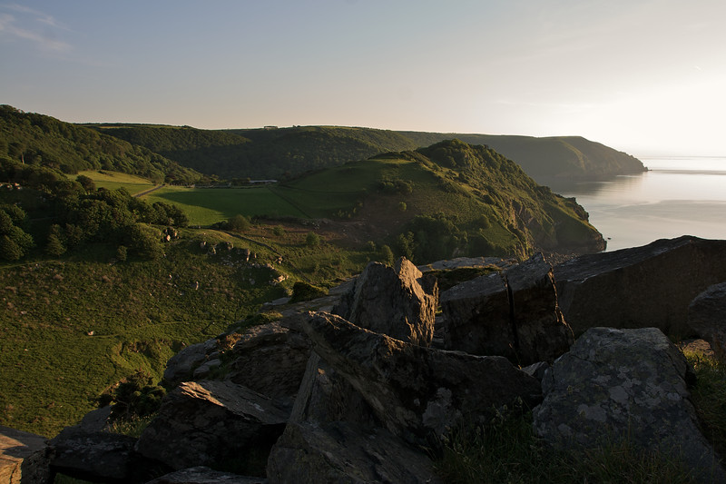 Wringcliff Bay, evening light