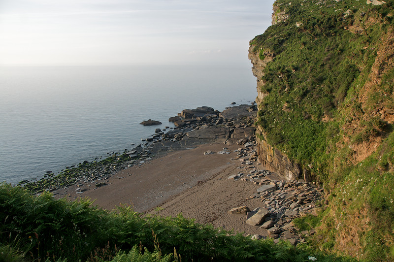 Bay on the Valley of the Rocks