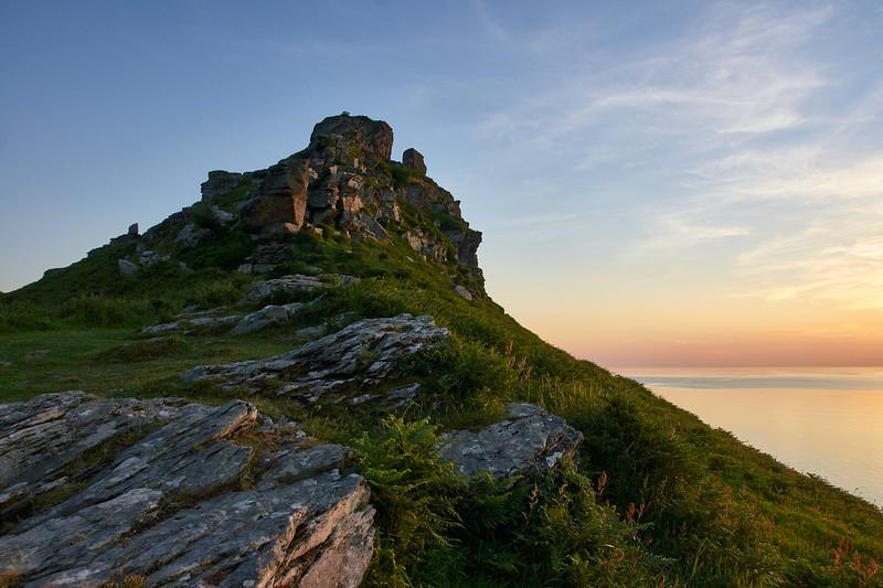 Castle Rock Sunset