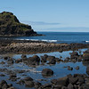 Coast near Giants Causeway
