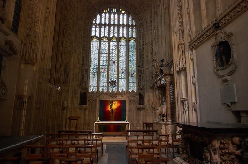 Sun in the Chapel