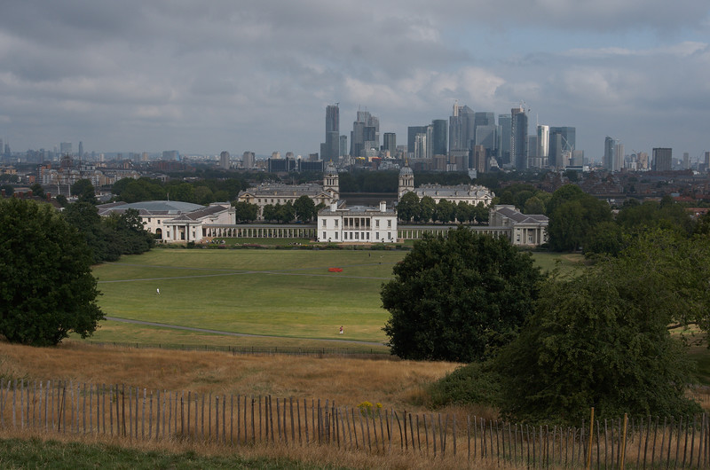 View Across Greenwich to London