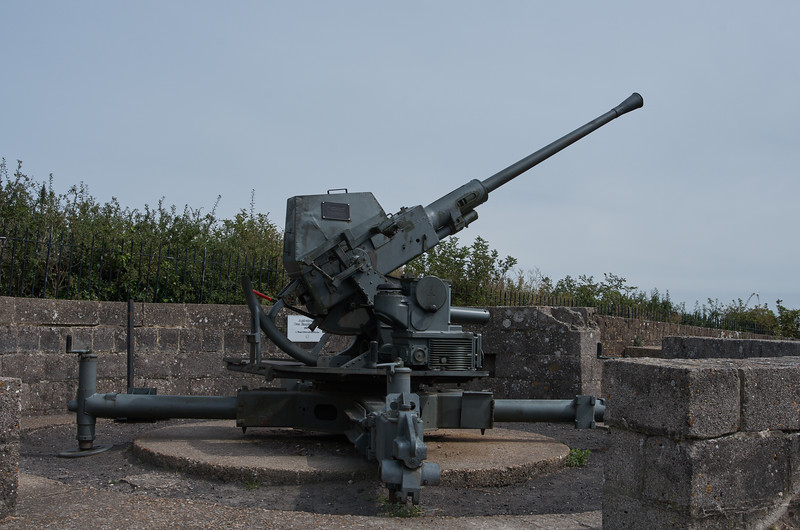 WWII Anti-aircraft Battery