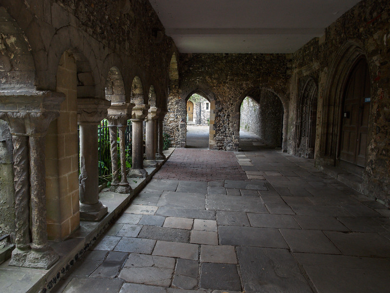 Catherdral Cloister