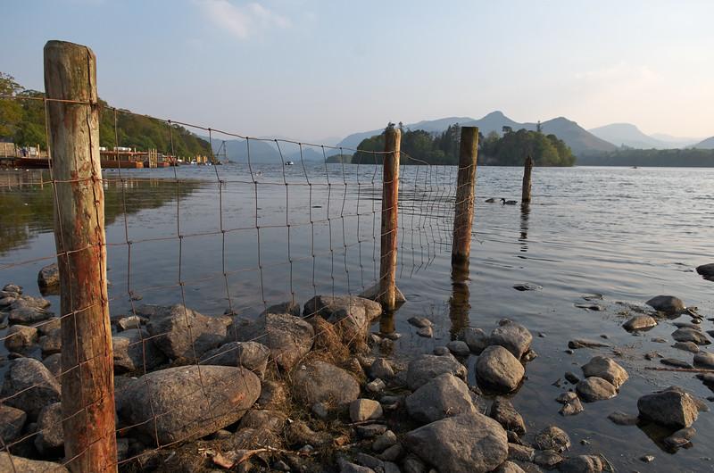 Water fence, Derwentwater