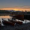 Sunset at Keswick Boat Landings