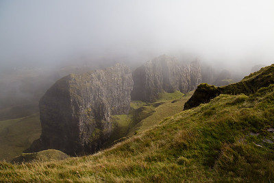 Fog in the Quiraing, Skye