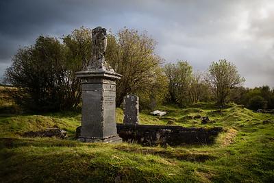 Graveyard near Skeabost, Skye