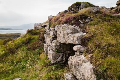 Dun Fiadhairt broch, near Dunvegan Castle, Skye