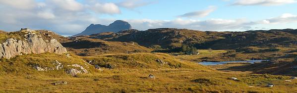 Near Lochinver, in the Northwest Highlands