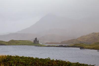 Ardvreck Castle on Loch Assynt, near Lochinver