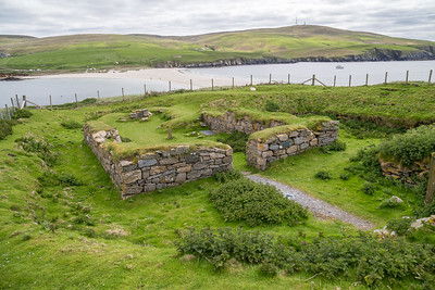 12th Century Church, St. Ninian's Isle, Shetland