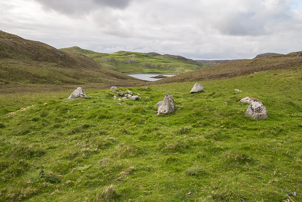 Ancient Settlements in Mavis Grind, Shetland