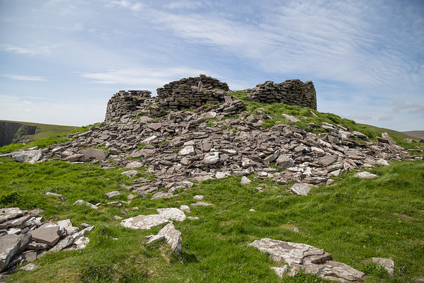 2,000 year old Burraland Broch, Shetland