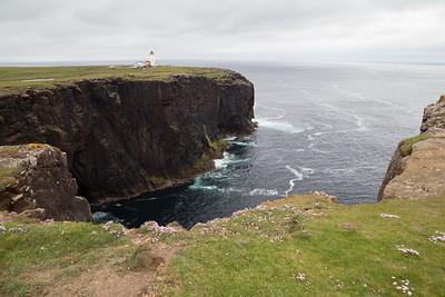 Lighthouse at Eshaness, Shetland