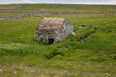 Viking-design water mill, Shetland