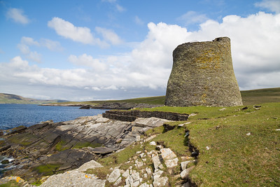 2,000 Year Old Mousa Broch, Shetland